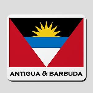 Antigua & Barbuda Flag Merchandise Mousepad