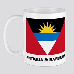 Antigua & Barbuda Flag Merchandise Mug