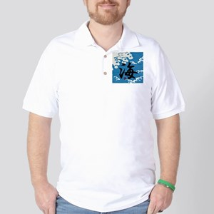 """Ocean & """"Ocean"""" Golf Shirt"""