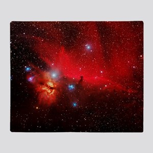 Horsehead and Flame nebulae - Throw Blanket