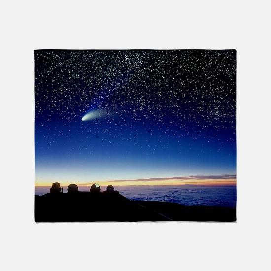 Mauna kea observatory - Throw Blanket