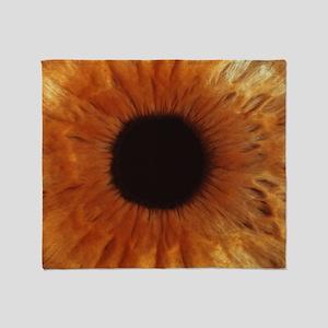 Human iris - Throw Blanket
