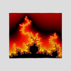 Mandelbrot fractal - Throw Blanket