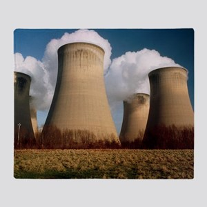 Coal fired power station - Throw Blanket