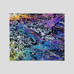 Mica schist folds, light micrograph - Stadium Bla