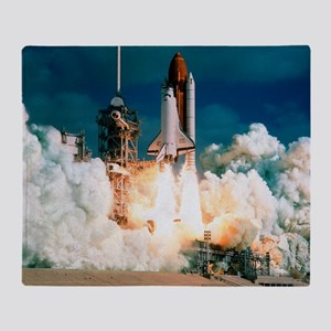 Space Shuttle launch - Throw Blanket