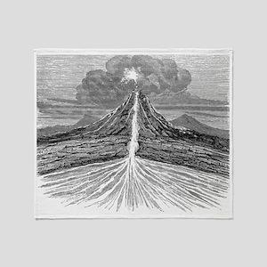 Volcano section, 19th century artwork - Stadium B