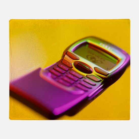 WAP mobile telephone - Throw Blanket