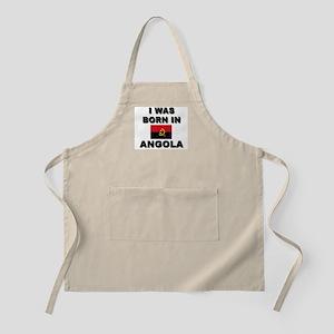 I Was Born In Angola BBQ Apron