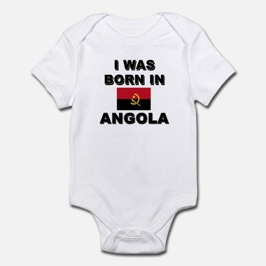 I Was Born In Angola Infant Bodysuit
