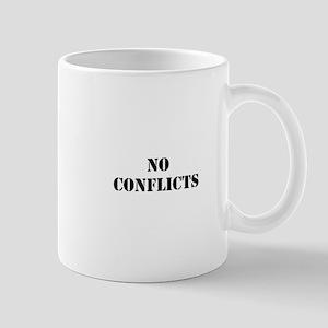 No conflicts Mug