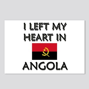 I Left My Heart In Angola Postcards (Package of 8)