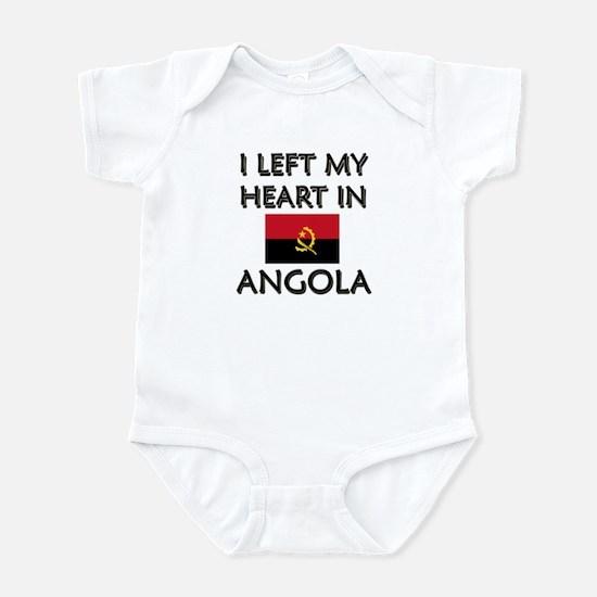 I Left My Heart In Angola Infant Bodysuit