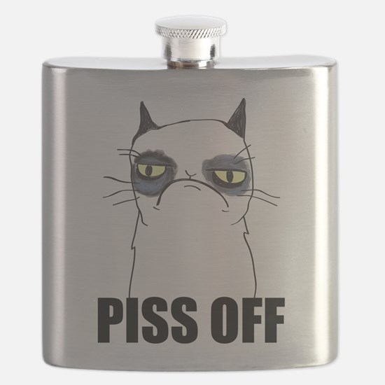 Pissy Cat - Piss Off Flask