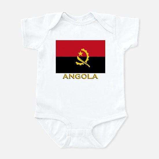 Angola Flag Gear Infant Bodysuit