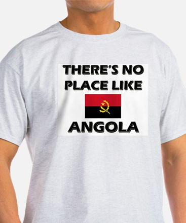 There Is No Place Like Angola Ash Grey T-Shirt