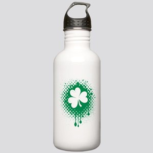 Irish Shamrock grunge Stainless Water Bottle 1.0L