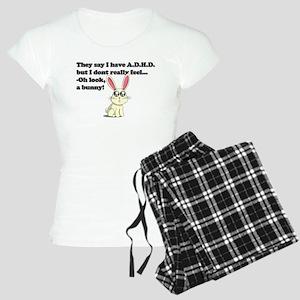 ADHD bunny Women's Light Pajamas