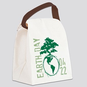 Earth Day 04/22 Canvas Lunch Bag