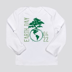 Earth Day 04/22 Long Sleeve Infant T-Shirt
