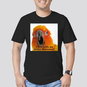 Sun Conure Steve Duncan Men's Fitted T-Shirt (dark