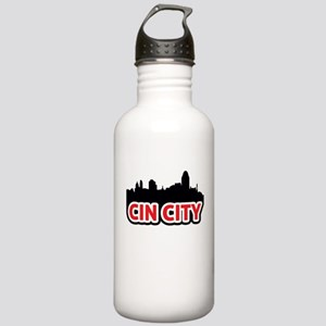Cin City Stainless Water Bottle 1.0L