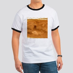 Mars topographical map, satellite image - Ringer T