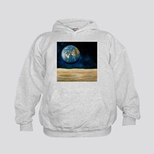 Artwork of the Earth as seen from the Moon - Kids