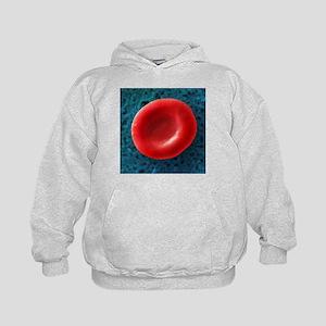 Red blood cell, SEM - Kids Hoodie