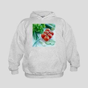 Salad vegetables - Kids Hoodie