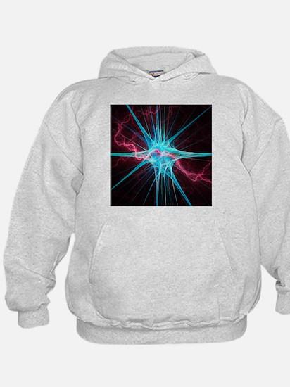 Nerve cell, artwork - Hoodie