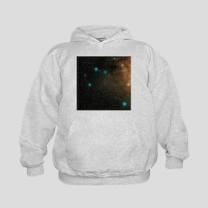 Sagittarius stars - Kids Hoodie