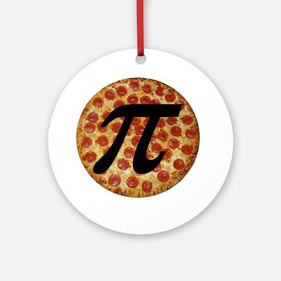 Pizza Pi Ornament (Round)