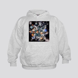 Solar system planets - Kids Hoodie