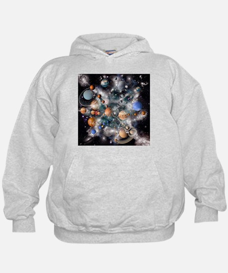 Solar system planets - Hoodie