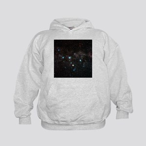 Cassiopeia constellation - Kids Hoodie