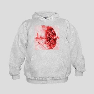 Heart and ECG - Kids Hoodie