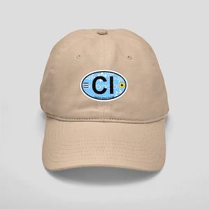 Captiva Island - Oval Design. Cap