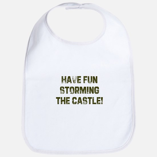 Have fun storming the castle! Bib
