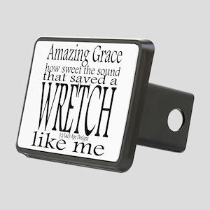 Amazing Grace Rectangular Hitch Cover