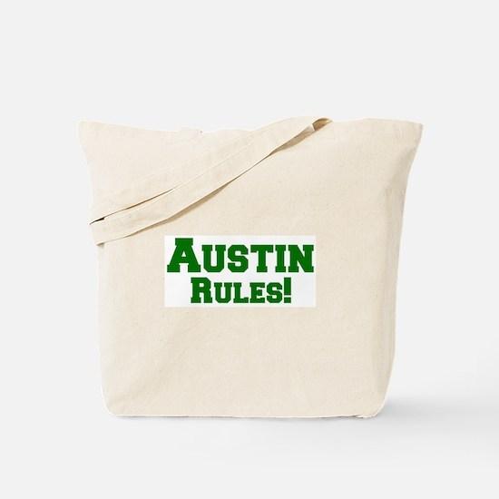 Austin Rules! Tote Bag