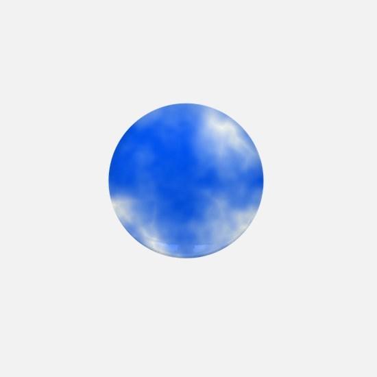 Blue Sky Picture. Mini Button