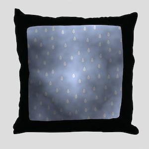 Rain Storm. Throw Pillow