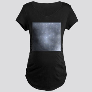 Rain Storm. Maternity Dark T-Shirt