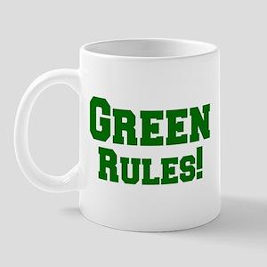Green Rules! Mug