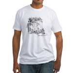 Music in the Wild Fitted T-Shirt