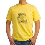 Music in the Wild Yellow T-Shirt