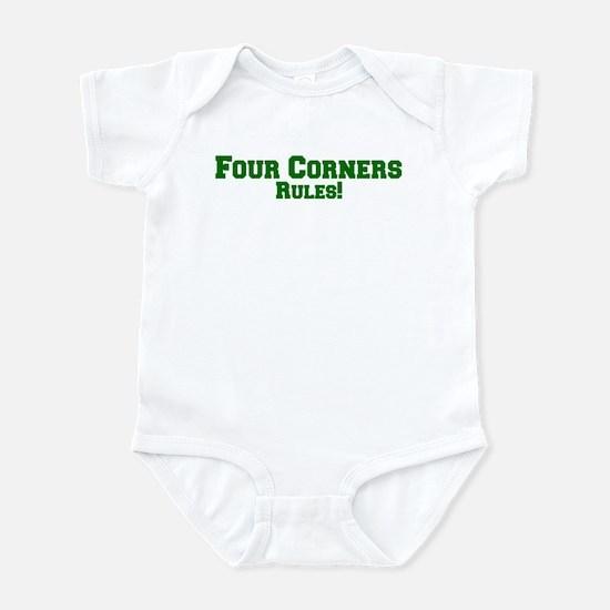 Four Corners Rules! Infant Bodysuit