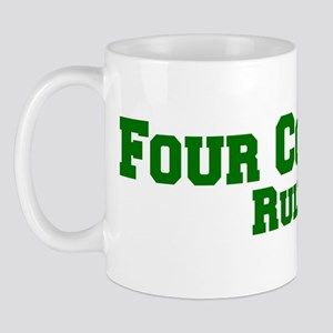 Four Corners Rules! Mug