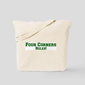 Four Corners Rules! Tote Bag